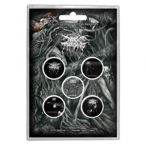 Darkthrone Button Badge Pack: Old Star (Retail Pack)