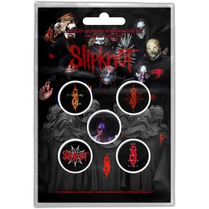 Slipknot Button Badge Pack: We Are Not Your Kind (Retail Pack)