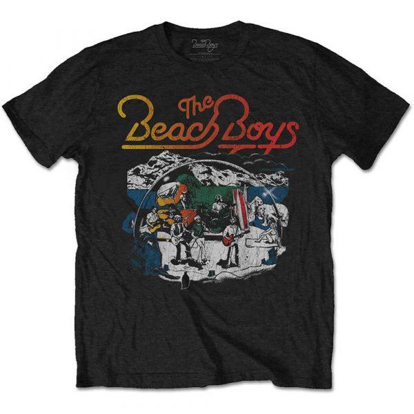 The Beach Boys Mens T-Shirt: Live Drawing (XX-Large)