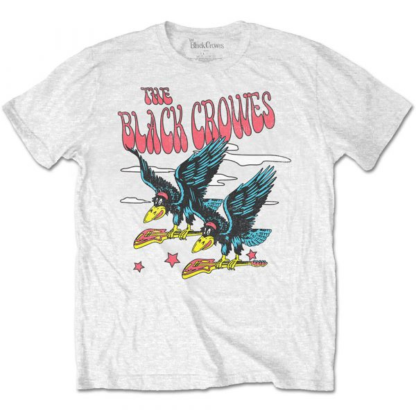 The Black Crowes Mens T-Shirt: Flying Crowes (XX-Large)