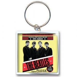 The Beatles Keyring: 1962 Port Sunlight (Photo-print)