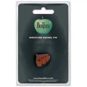 The Beatles Mini Pin Badge: Rubber Soul