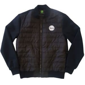 The Beatles Mens Quilted Jacket: Drum Logo (XX-Large)
