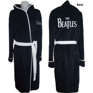 The Beatles Unisex Bathrobe: Drop T Logo (Large - X-Large)