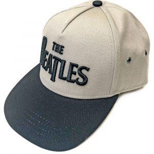 The Beatles Unisex Snapback Cap: Drop T Logo