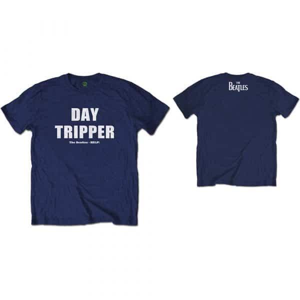 The Beatles Mens T-Shirt: Day Tripper (Back Print) (XX-Large)