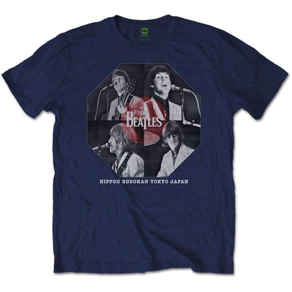 The Beatles Mens T-Shirt: Budokan Octagon (XX-Large)