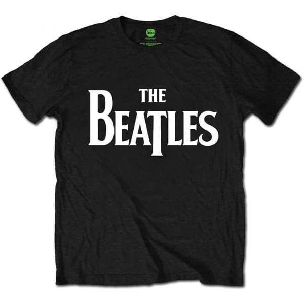 The Beatles Mens T-Shirt: Drop T Logo (Retail Pack) (XX-Large)
