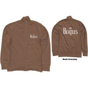 The Beatles Mens Track Top: Drop T Logo (Back Print) (XX-Large)