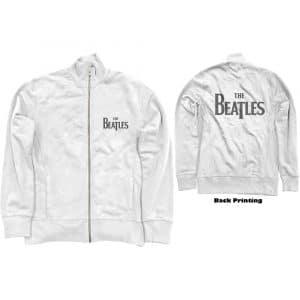 The Beatles Mens Track Top: Drop T Logo (Back Print) (XXX-Large)