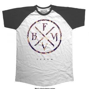 Bullet For My Valentine Mens T-Shirt: Venom (Raglan) (XX-Large)