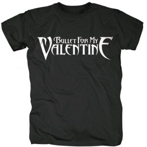 Bullet For My Valentine Mens T-Shirt: Logo XX-LARGE ONLY