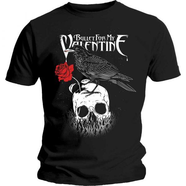 Bullet For My Valentine Mens T-Shirt: Raven (XX-Large)
