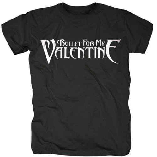 Bullet For My Valentine Mens T-Shirt: Logo (XX-Large)