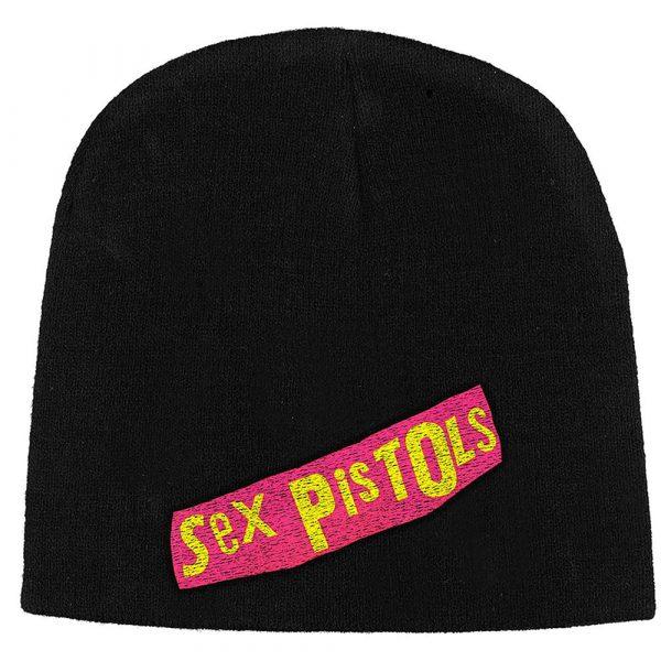 The Sex Pistols Unisex Beanie Hat: Logo