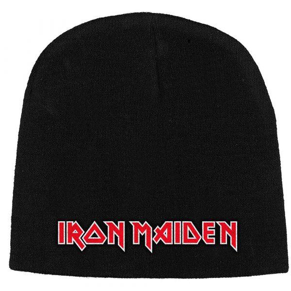 Iron Maiden Unisex Beanie Hat: Logo