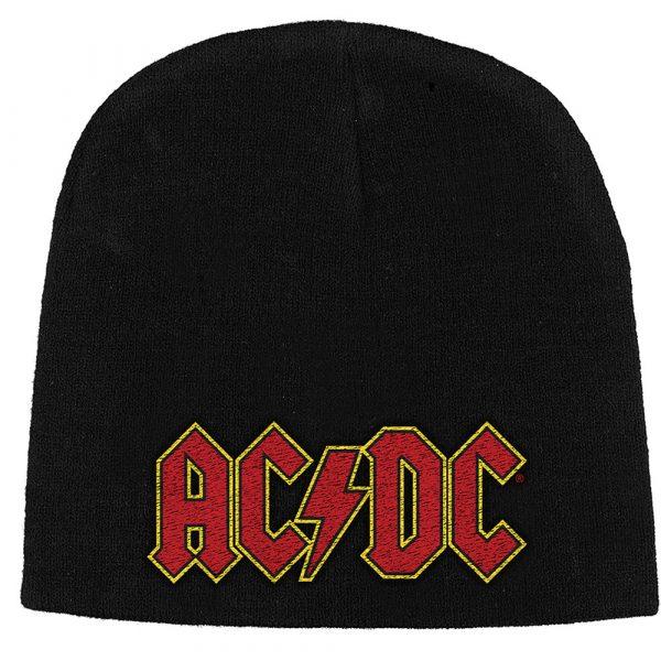 AC/DC Unisex Beanie Hat: Logo