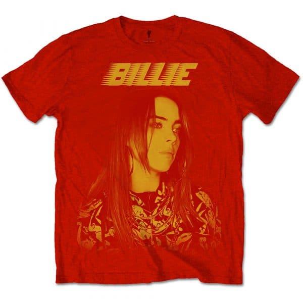 Billie Eilish Mens T-Shirt: Racer Logo Jumbo (XX-Large)