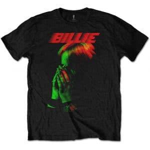 Billie Eilish Mens T-Shirt: Hands Face (XX-Large)