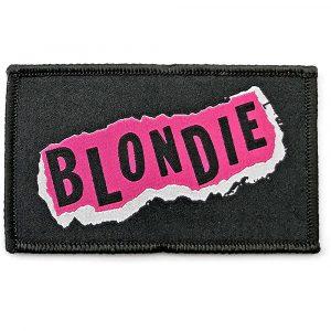 Blondie Standard Patch: Punk Logo