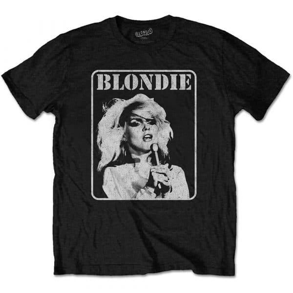 Blondie Mens T-Shirt: Presente Poster (XX-Large)