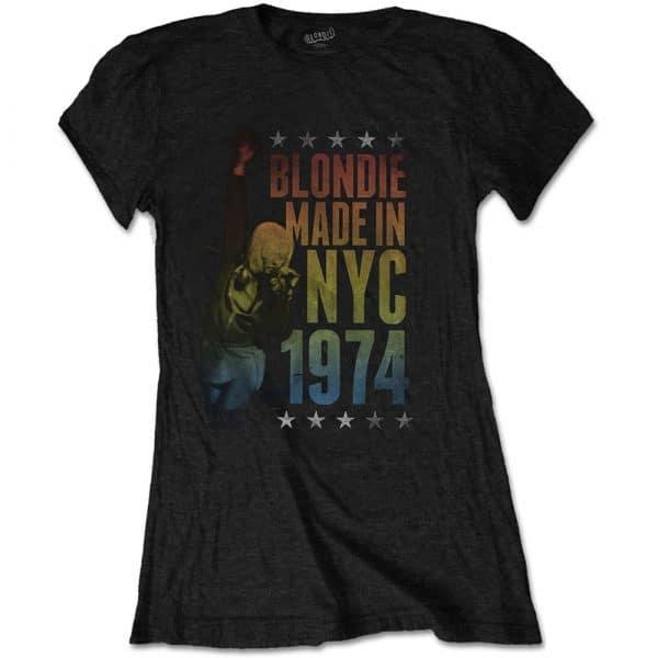 Blondie Ladies T-Shirt: Made in NYC (XX-Large)