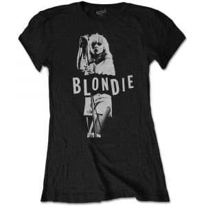 Blondie Ladies T-Shirt: Mic. Stand (XX-Large)