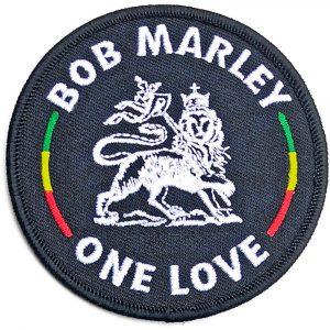 Bob Marley Standard Patch: Lion