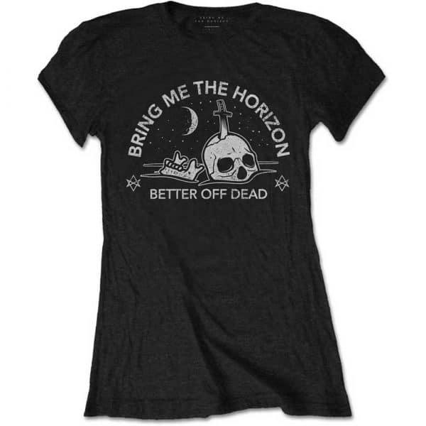 Bring Me The Horizon Ladies T-Shirt: Happy Song (XX-Large)