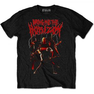 Bring Me The Horizon Mens T-Shirt: Lightning (XX-Large)