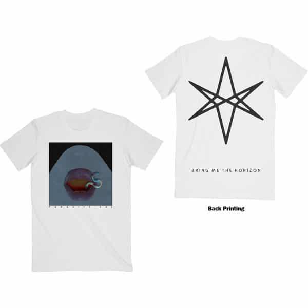 Bring Me The Horizon Mens T-Shirt: Parasite (Back Print) (XX-Large)