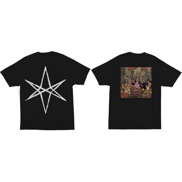 Bring Me The Horizon Mens T-Shirt: Hex PHSH Cover (Back Print) (XX-Large)