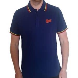 David Bowie Mens Polo Shirt: Flash Logo (XX-Large)
