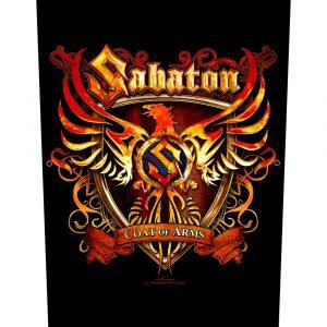 Sabaton Back Patch: Coat of Arms