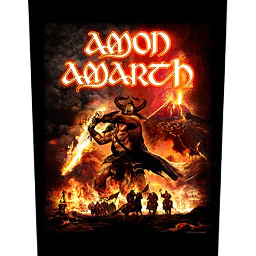Amon Amarth Back Patch: Surtur Rising