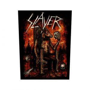 Slayer Back Patch: Devil on Throne