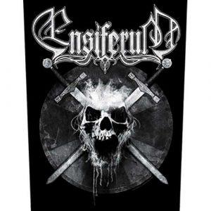 Ensiferum Back Patch: Skull