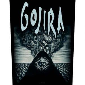 Gojira Back Patch: Magma