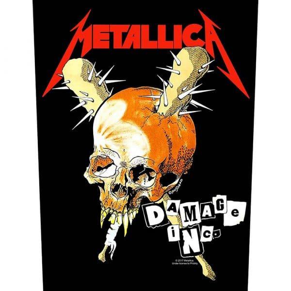 Metallica Back Patch: Damage Inc