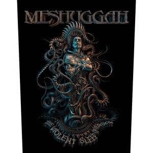 Meshuggah Back Patch: Violent Sleep of Reason