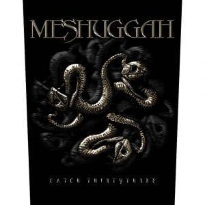 Meshuggah Back Patch: Catch 33