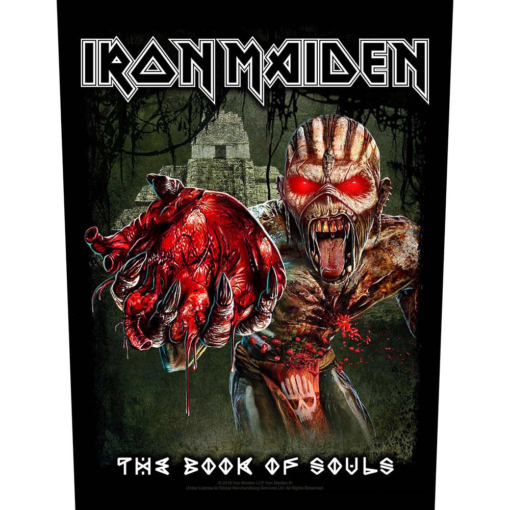 Iron Maiden Back Patch: Eddie's Heart