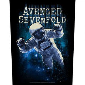 Avenged Sevenfold Back Patch: Astronaut