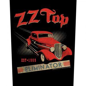 ZZ Top Back Patch: Eliminator