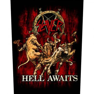Slayer Back Patch: Hell Awaits