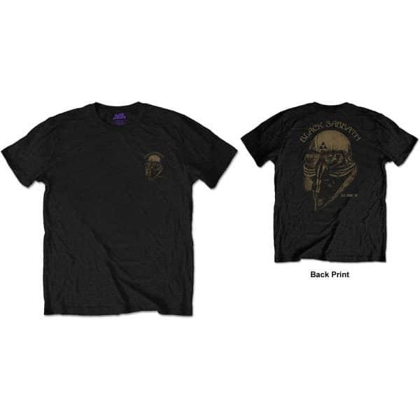 Black Sabbath Mens T-Shirt: US Tour 78 (Back Print/Retail Pack) (XX-Large)