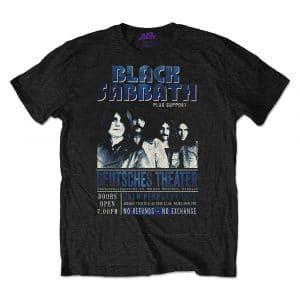 Black Sabbath Mens Eco-T-Shirt: Deutsches '73 (XX-Large)