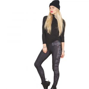 Black Sabbath Ladies Fashion Leggings: Celtic Logo (Large to X-Large)
