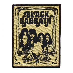 Black Sabbath Standard Patch: The End