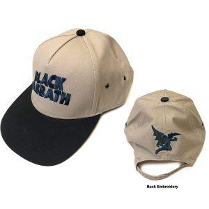 Black Sabbath Unisex Snapback Cap: Wavy Logo